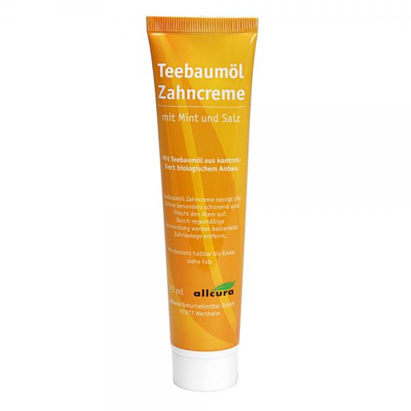 Teebaum-Zahncreme 75 ml