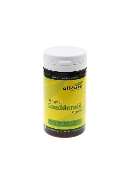 Sanddorn-Öl Kapseln 90 Stück