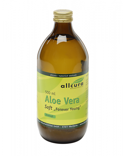 "Aloe Vera Saft 500 ml ""Forever Young"""
