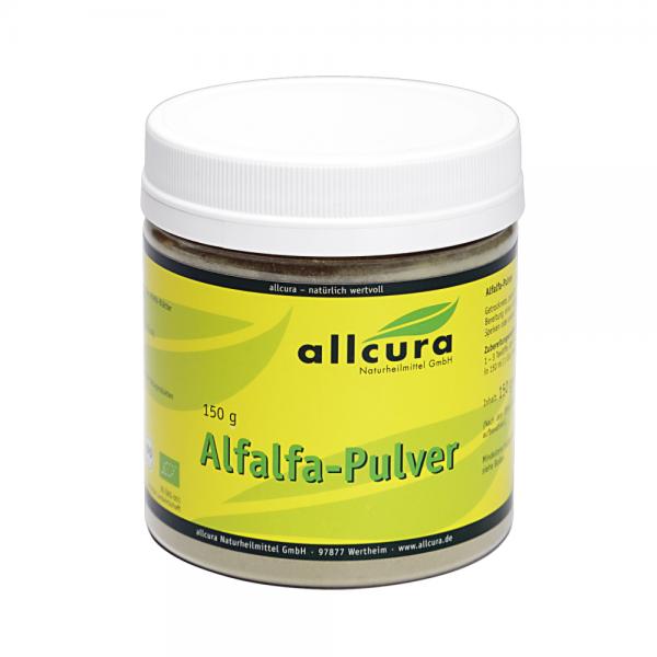 Alfalfa Pulver Bio, 150g