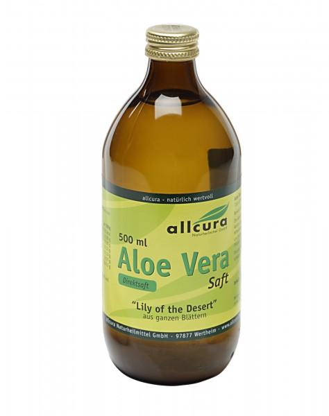 """Aloe Vera Saft 500ml """"Lily of the Desert"""""""