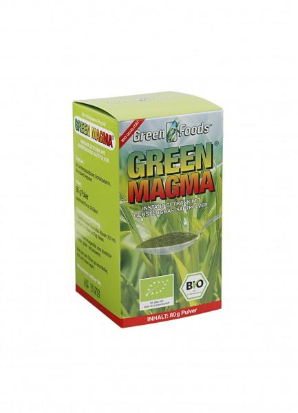 Green Magma Gerstengras Extr. 80 g Pulver Bio