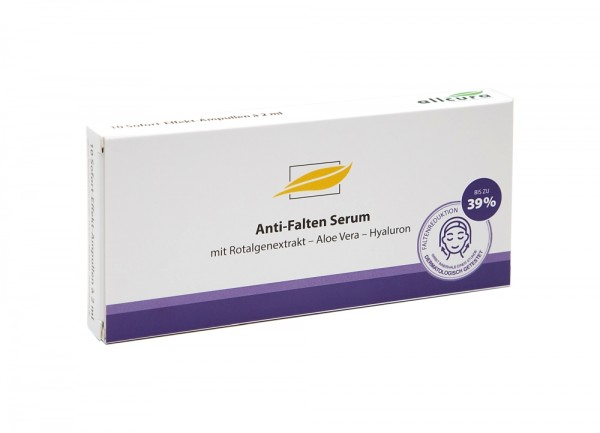 Anti Falten Serum 20 ml 10 Ampullen á 2 ml