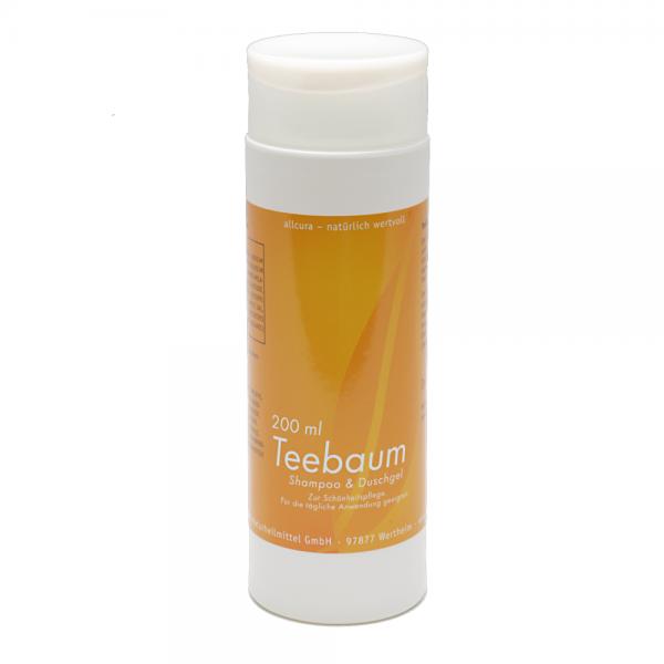 Teebaum-Shampoo und Duschgel