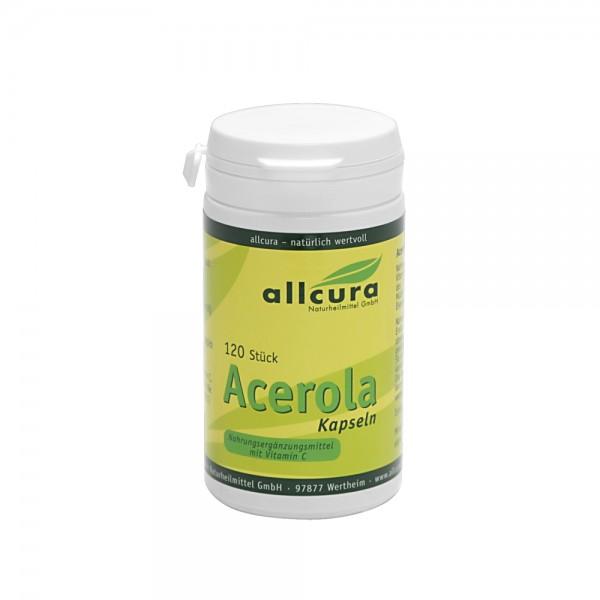 Acerola Kps. 120 Stk. (Vitamin C)
