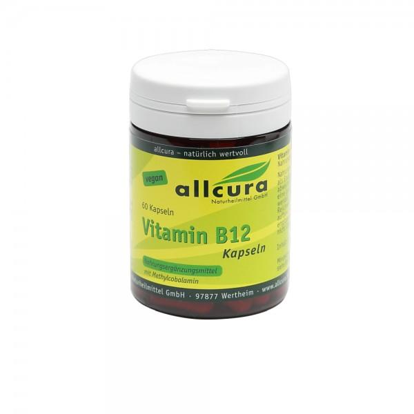 Vitamin B 12 Kapseln 60 Stück