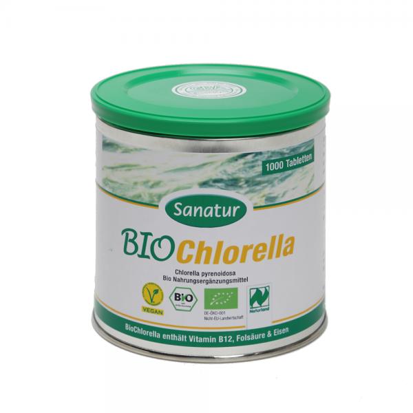 Chlorella BIO Tbl. 1000 Stück