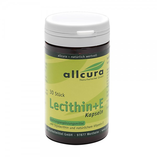 Lecithin+E-Kps. 30 Stk.1000mg