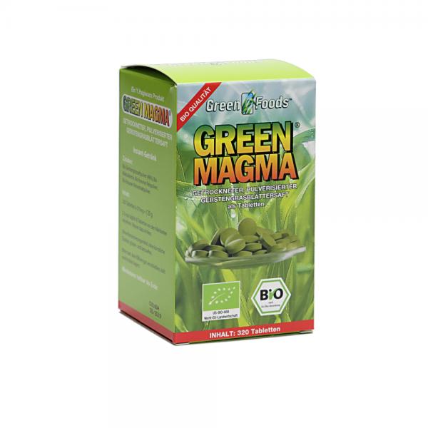 Green Magma Tabletten 320 St. Bio