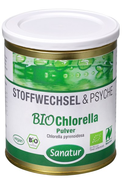 Chlorella Bio Pulver, 300g