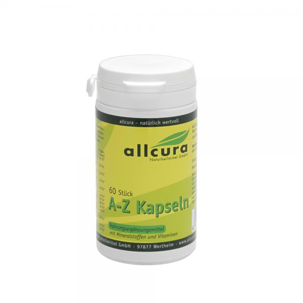 A-Z Kapseln 60 Stück Mineralien und Vitamine