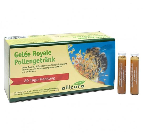 Gelee Royal Pollengetränk 30 Fläschchen à 10ml