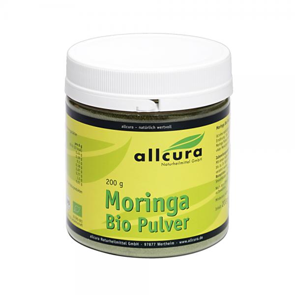 Moringa Pulver Bio, 200g